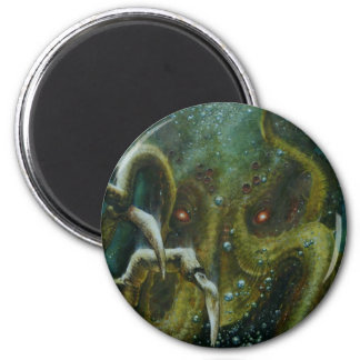 Dan Henk Cthulhu 2 Inch Round Magnet