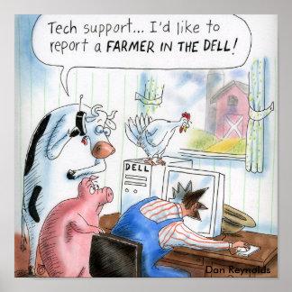Dan Reynolds   Poster   Farmer In The Dell