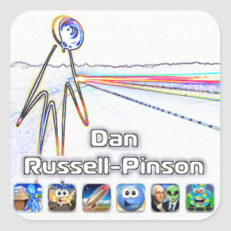 Dan Russell-Pinson Stickers