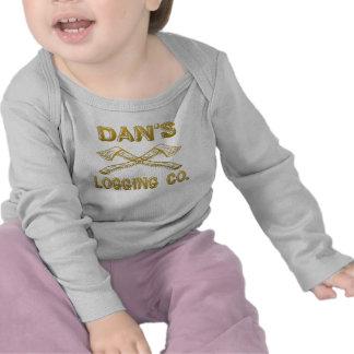 Dan s Logging Company Tee Shirts