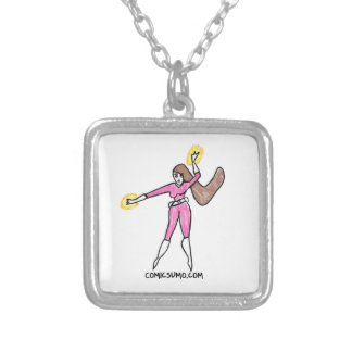 Dana Action Girl Silver Plated Necklace