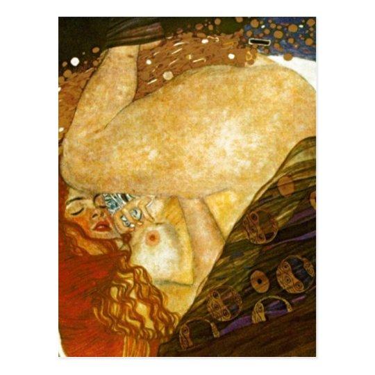 Dana? Gustav Klimt , painted 1907. Source: Other v Postcard
