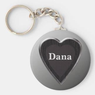 Dana Heart Keychain by 369MyName