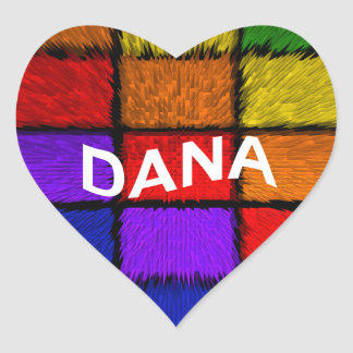 DANA HEART STICKER