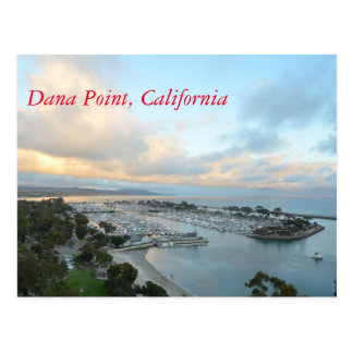 Dana Point California Postcard