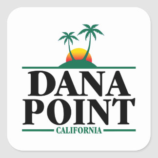 Dana Point California Square Sticker