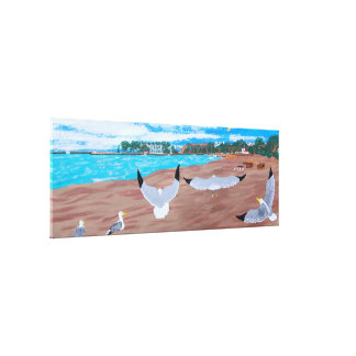 Dana point harbor canvas print