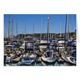 Dana Point Harbor Greeting Card