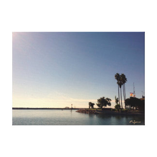 Dana Point Harbor in the Morning Canvas Print
