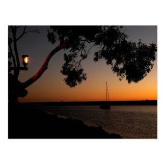 Dana Point Harbor Sunset Postcard