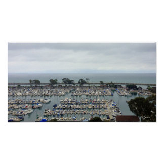 Dana Point Marina Poster
