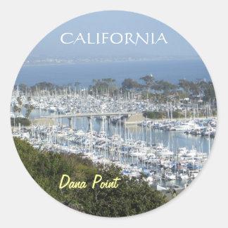 Dana Point marina sticker