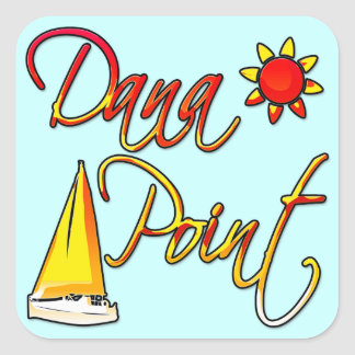 Dana Point Square Sticker