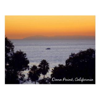 Dana Point Sunset Postcard