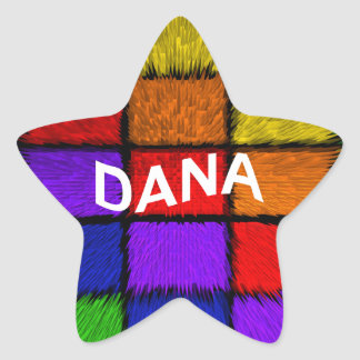 DANA STAR STICKER