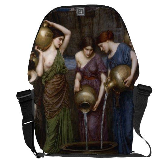 Danaides John William Waterhouse Large Courier Bag