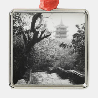 Danang Vietnam, Temple View Marble Mountain Metal Ornament