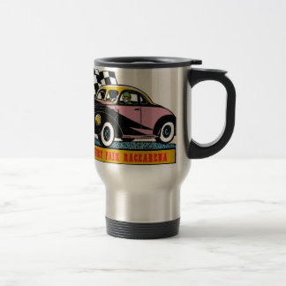 Danbury Fair Racearena Coupe Modified SNYRA Logo Travel Mug