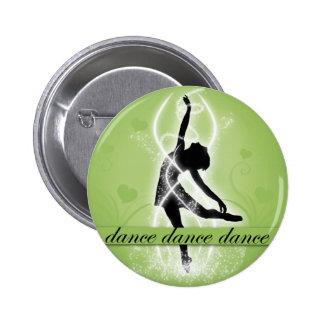 Dance 2 Inch Round Button