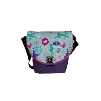 Dance Academy Pattern Messenger Bag