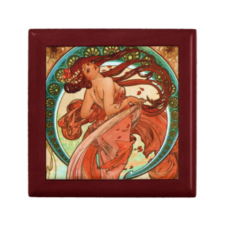 Dance Alphonse Mucha Art Nouveau Gift Box