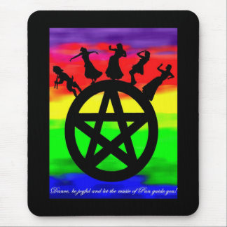 Dance and be joyful! mouse pad