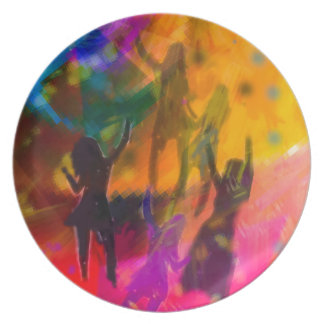 Dance and party plate