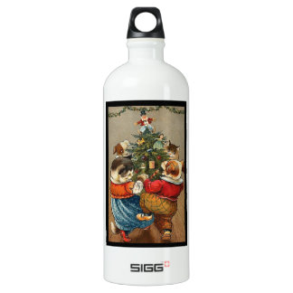 Dance Around the Christmas Tree Water Bottle