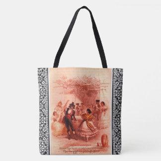 """""""Dance at Granada"""" Tote Bag"""