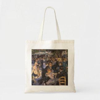 Dance at Le Moulin de la Galette by Pierre Renoir Budget Tote Bag
