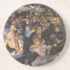 Dance at Le Moulin de la Galette by Pierre Renoir Coaster