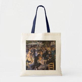Dance at Le Moulin de la Galette by Renoir Budget Tote Bag