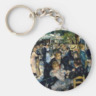Dance at Le Moulin de la Galette by Renoir Keychain