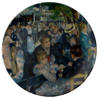 Dance at Le Moulin de la Galette by Renoir Plate