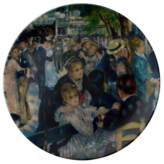 Dance at Le Moulin de la Galette by Renoir Plate