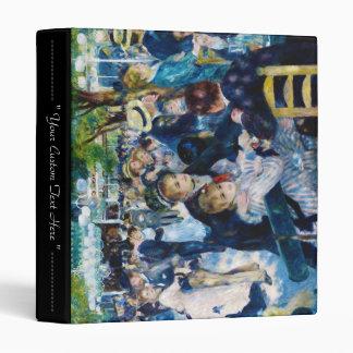 Dance at the Moulin de la Galette Auguste Renoir Vinyl Binders