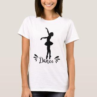 Dance - Ballerina Silhouette T-Shirt