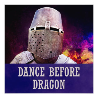 Dance before dragon photo art