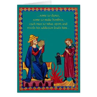 Dance & Bonfires Card