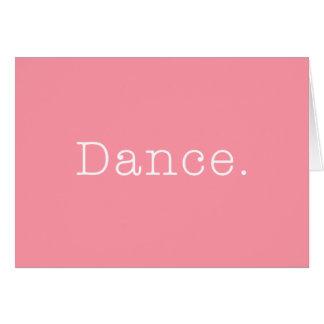 Dance. Bubblegum Light Pink Dance Quote Template
