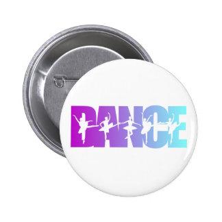 DANCE PINBACK BUTTONS