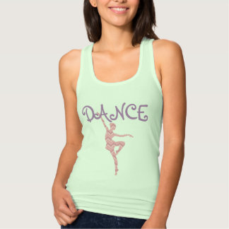 DANCE Chevron Tank Top
