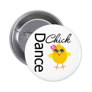 Dance Chick 2 Inch Round Button