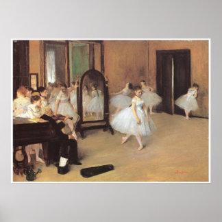 Dance Class, 1871 - Edgar Degas Poster