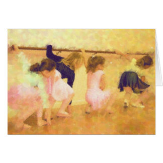 Dance Class Note Card