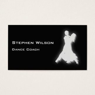 Dance Coach Business Cards