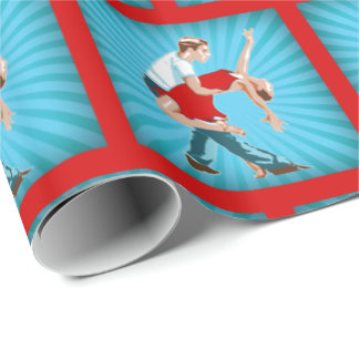Dance Couple  Gift Wrapping paper
