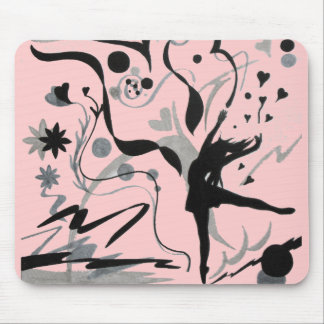 Dance Crazy! Mouse Pad