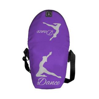DANCE custom messenger bag