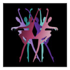 Dance Dance Dance Colours Poster